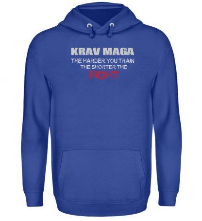 Krav Maga - The Harder You Train... - Unisex Kapuzenpullover Hoodie-668
