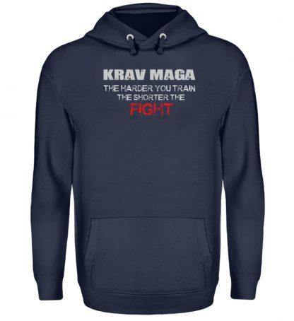 Krav Maga - The Harder You Train... - Unisex Kapuzenpullover Hoodie-1698