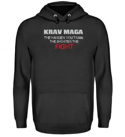 Krav Maga - The Harder You Train... - Unisex Kapuzenpullover Hoodie-1624