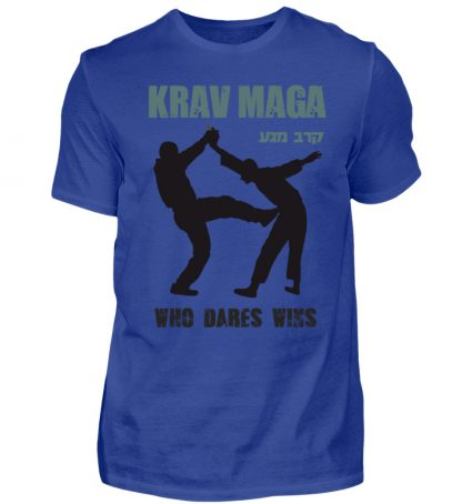 Krav Maga - Who Dares Wins - Herren Premiumshirt-27