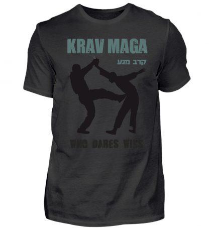 Krav Maga - Who Dares Wins - Herren Premiumshirt-16