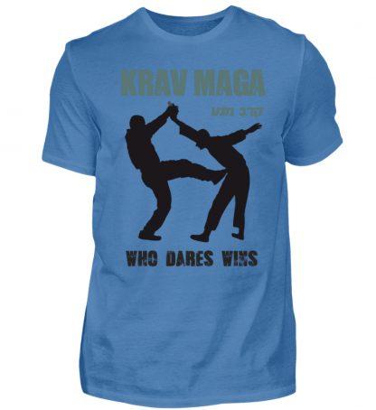 Krav Maga - Who Dares Wins - Herren Premiumshirt-2894