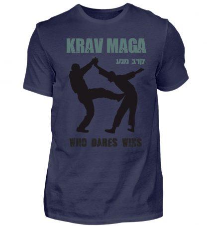 Krav Maga - Who Dares Wins - Herren Premiumshirt-198