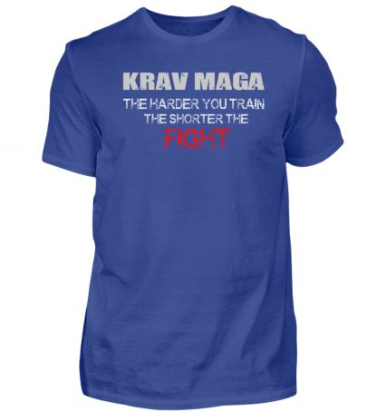 Krav Maga - The Harder You Train... - Herren Shirt-668