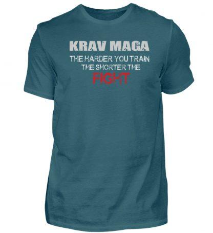 Krav Maga - The Harder You Train... - Herren Shirt-1096