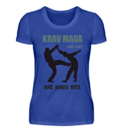 Krav Maga - Who Dares Wins - Damenshirt-2496