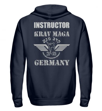 KMFG Instructor (Black Belt) - Unisex Kapuzenpullover Hoodie-1698