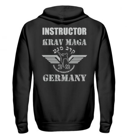 KMFG Instructor (Black Belt) - Unisex Kapuzenpullover Hoodie-1624