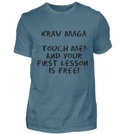 Krav Maga Touch me! And Your First.. - Herren Shirt-1230