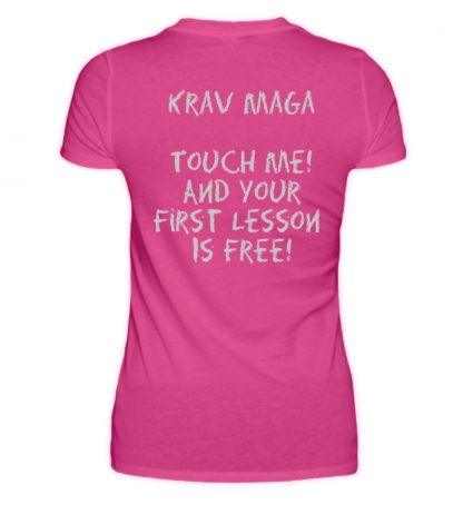 Krav Maga Touch me! And Your First.. - Damen Premiumshirt-28