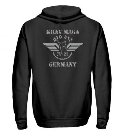 Krav Maga federation Germany Zipper B - Zip-Hoodie-16