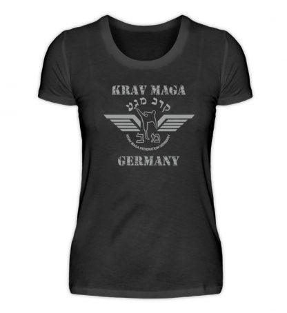 Krav Maga Touch me! And Your First.. - Damen Premiumshirt-16