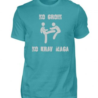No Groin - No Krav Maga - Herren Shirt-1242