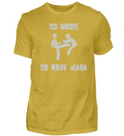 No Groin - No Krav Maga - Herren Premiumshirt-2980