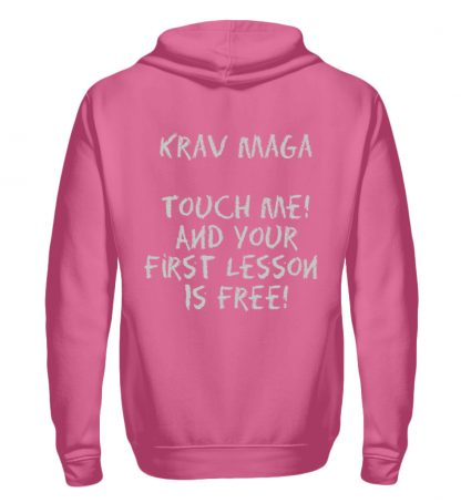 Krav Maga Touch me! And Your First.. - Unisex Kapuzenpullover Hoodie-1521