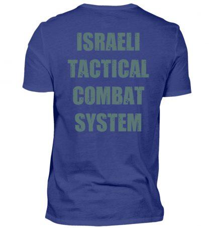 Israeli Tactical Combat System - Herren Premiumshirt-2962