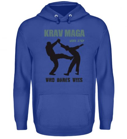 Krav Maga - Who Dares Wins - Unisex Kapuzenpullover Hoodie-668