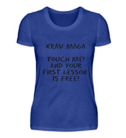 Krav Maga Touch me! And Your First.. - Damen Premiumshirt-27
