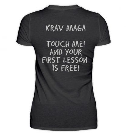 Krav Maga Touch me! And Your First.. - Damenshirt-16