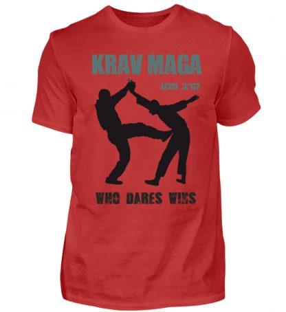 Krav Maga - Who Dares Wins - Herren Shirt-4