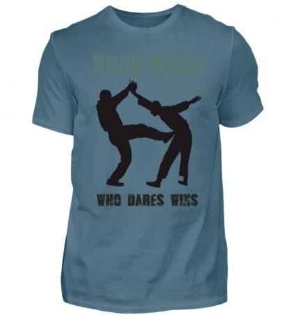 Krav Maga - Who Dares Wins - Herren Shirt-1230