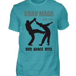 Krav Maga - Who Dares Wins - Herren Shirt-1242